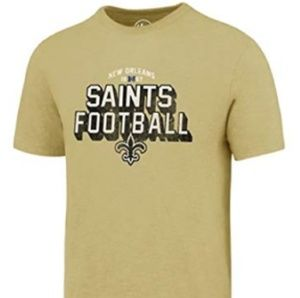 New Orleans Saints Dry Fit Soft Cotton T Shirt NWT